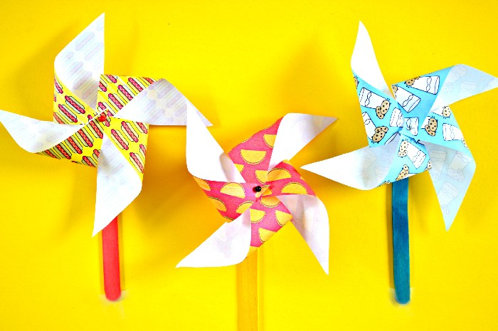 JUNK FOOD PINWHEELS