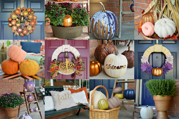 DIY WAYS TO DECORATE YOUR FRONT PORCH FOR FALL