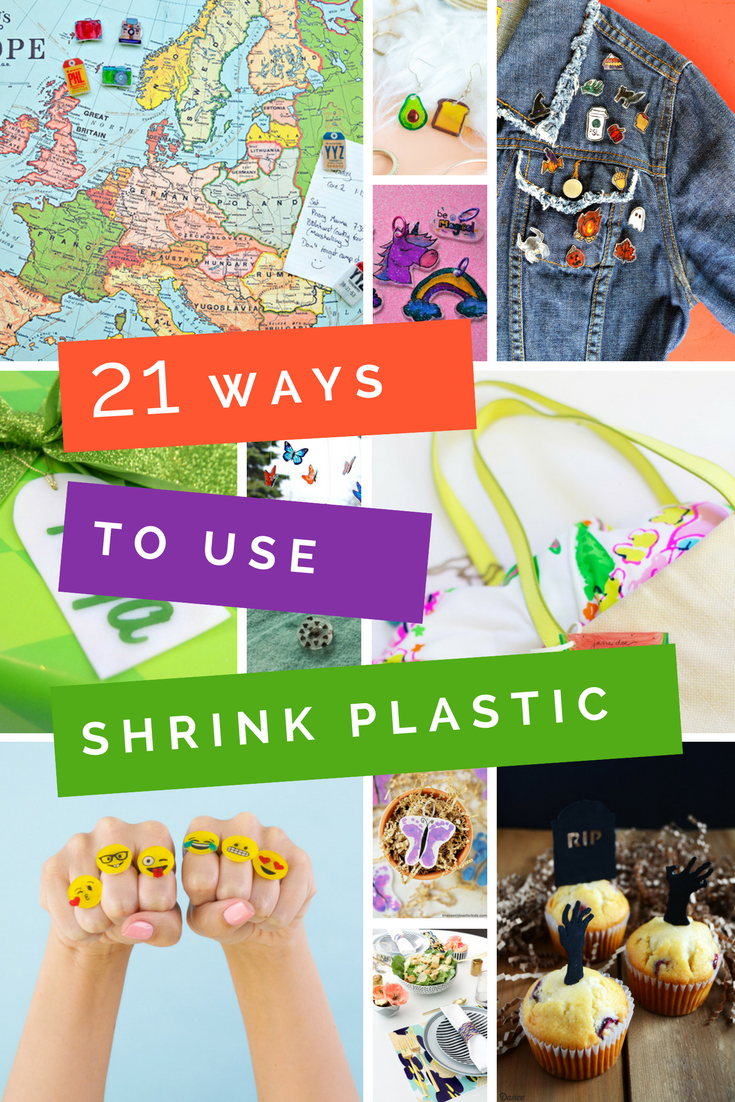 CREATIVE WAYS TO USE SHRINK PLASTIC