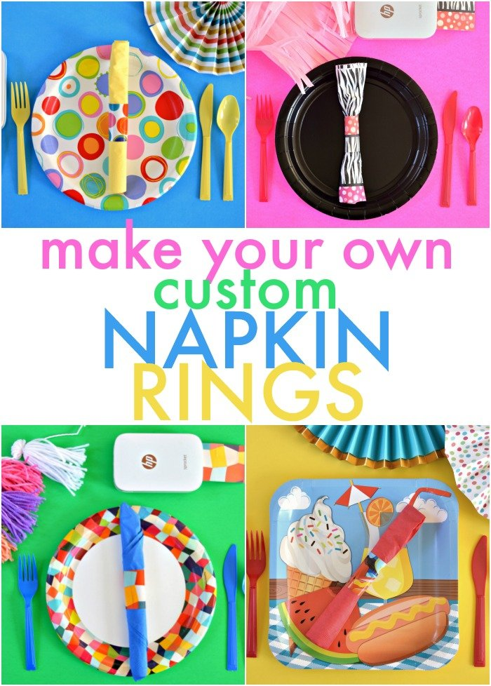 DIY CUSTOM NAPKIN RINGS