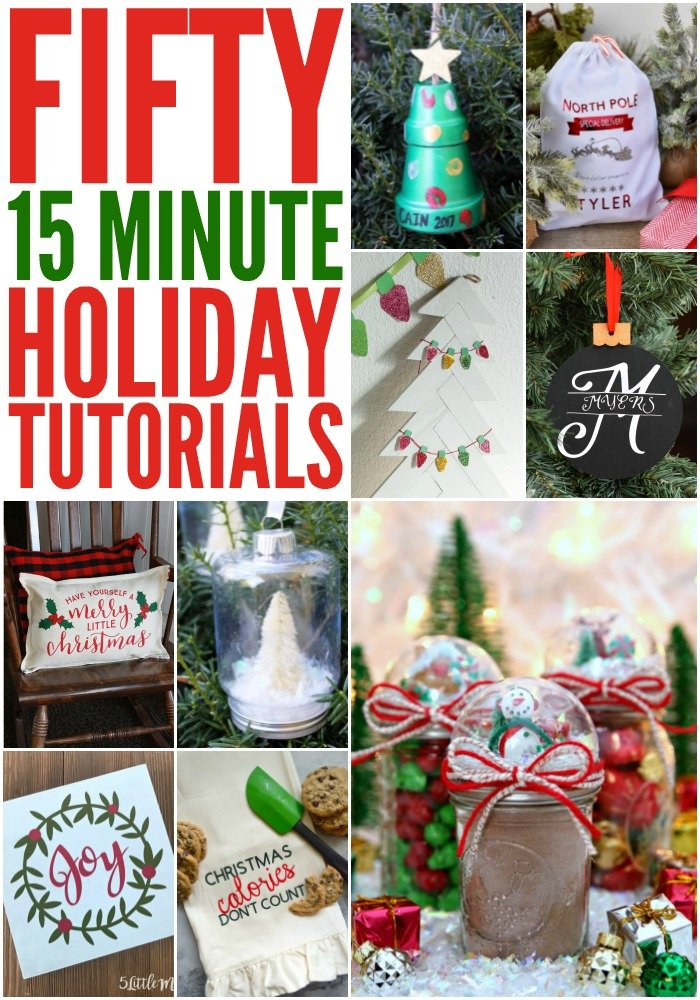 FIFTY 15 MINUTE HOLIDAY CRAFTS