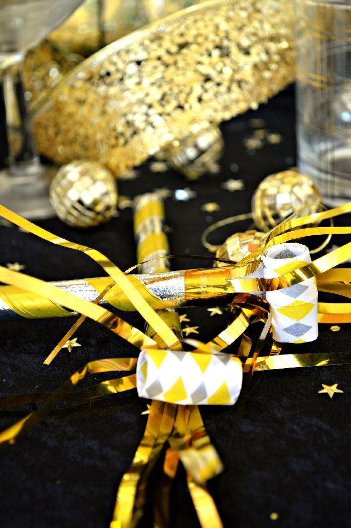 DOLLAR STORE NEW YEARS EVE DECORATIONS Mad In Crafts