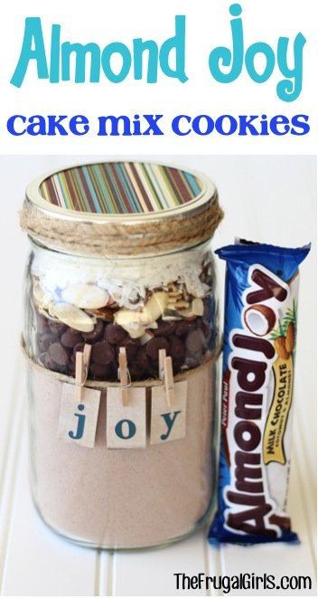 15 COOKIES MIXES IN A JAR IDEAS