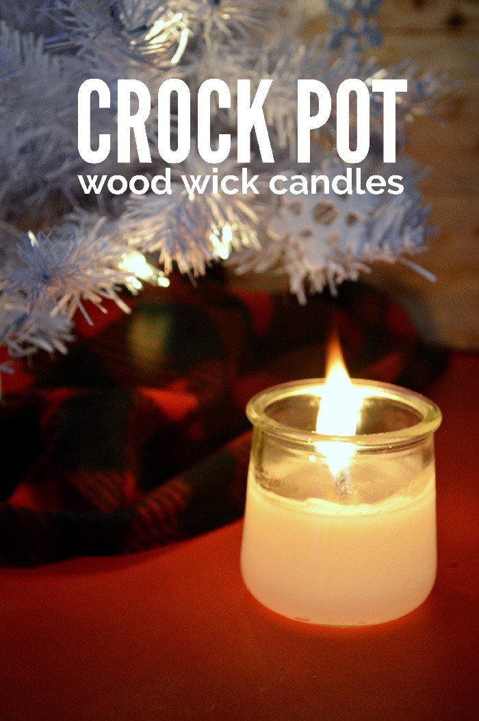 CROCK POT WOOD WICK CANDLES