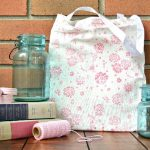 MAKE A 15 MINUTE FLORAL TOTE BAG