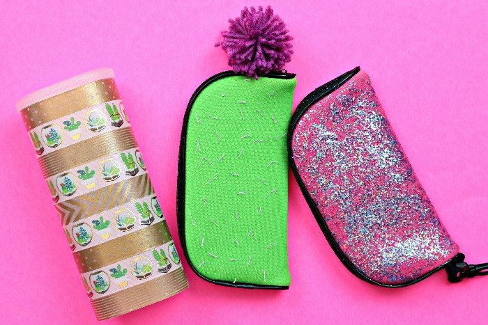DIY SUNGLASSES CASES – 3 WAYS