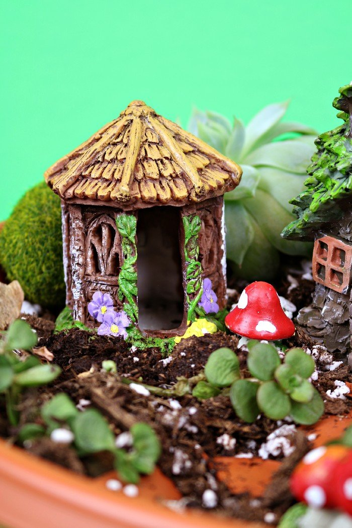 15 MINUTE DOLLAR STORE FAIRY GARDEN