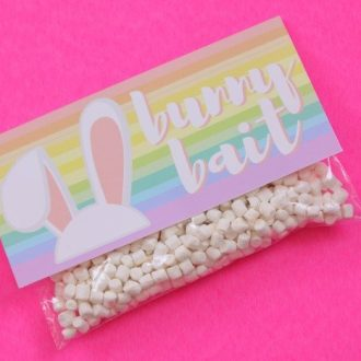 EASTER SNACKS: BUNNY BAIT – FREE PRINTABLE