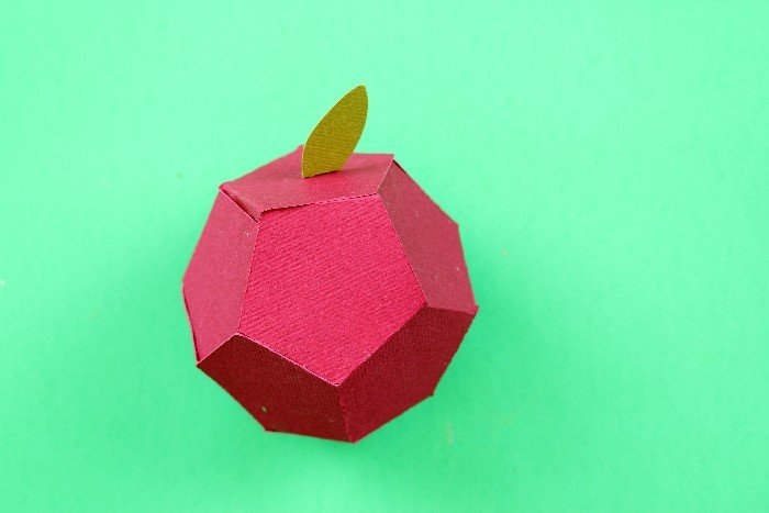 DIY HEXAGONAL APPLE BOX