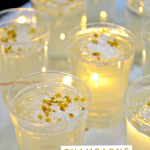 CHAMPAGNE JELLO SHOTS FOR NEW YEAR'S EVE