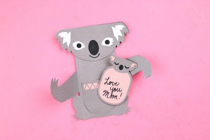 ADORABLE KOALA MOTHER'S DAY CARD