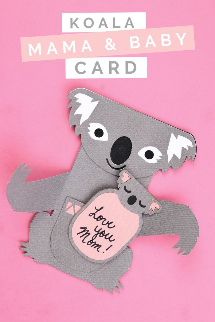ADORABLE KOALA & BABY MOTHER'S DAY CARD