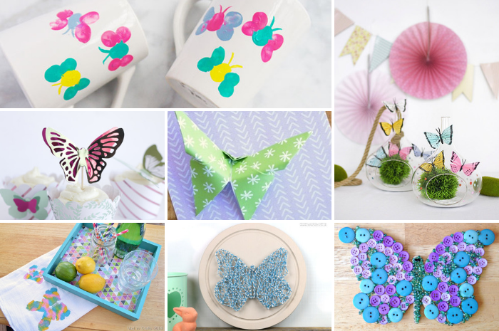 15 BUTTERFLY CRAFTS TO MAKE FOR SPRING