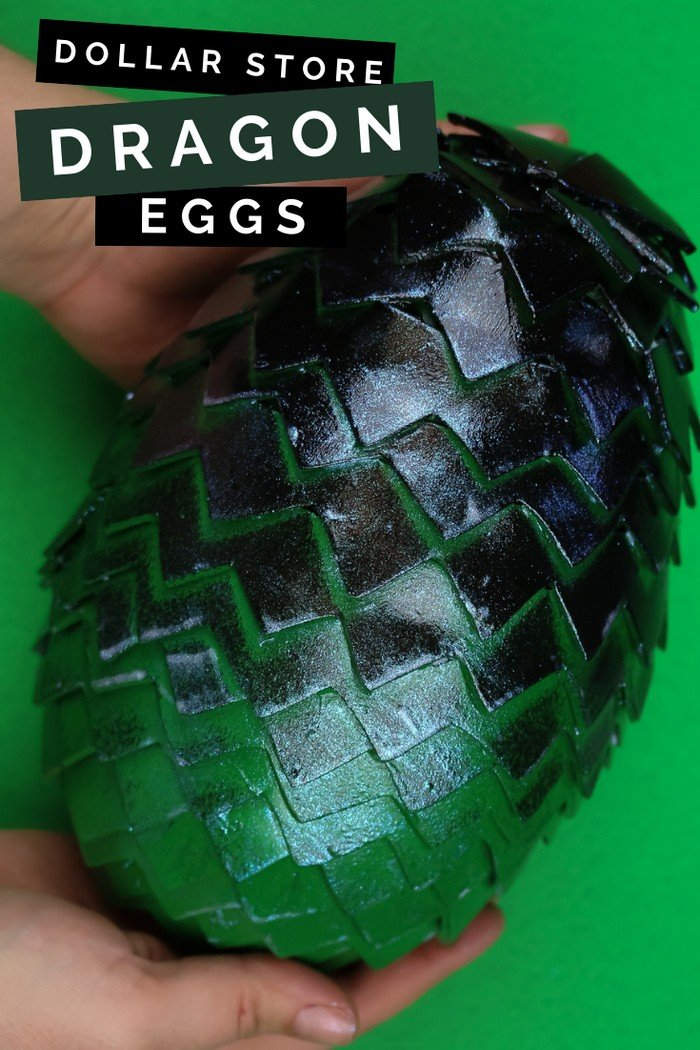 CHEAP DIY DRAGON EGGS FOR A GAME OF THRONES PARTY