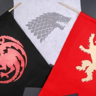 HOW TO MAKE GAME OF THRONES HOUSE BANNERS