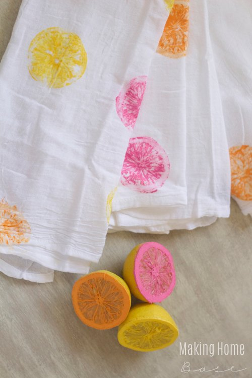 15 WAYS TO DECORATE TEA TOWELS