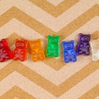 GUMMY BEAR THUMBTACKS