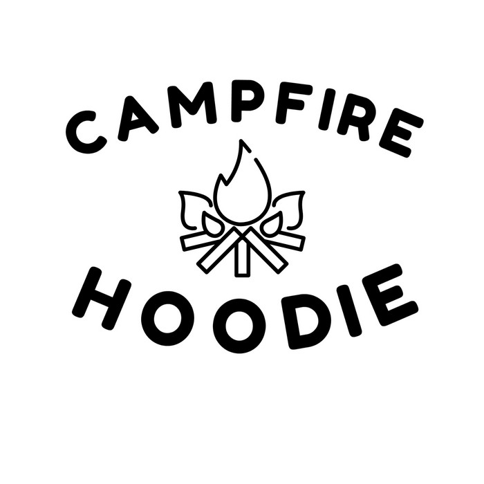 CAMPFIRE HOODIE – FREE SVG FILE