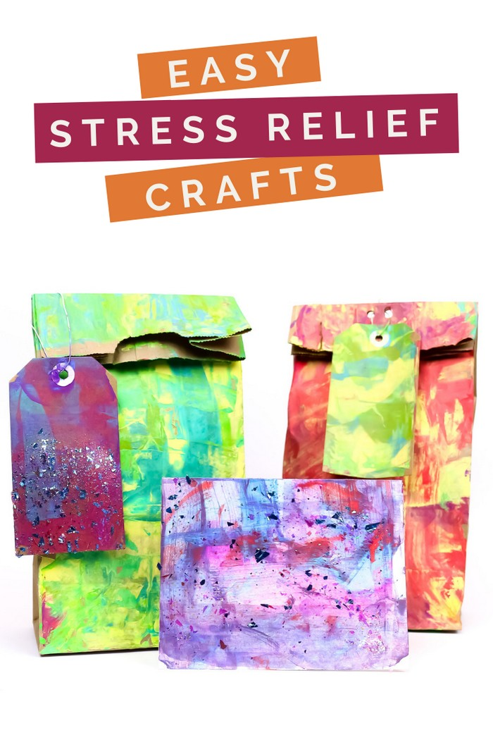 EASY STRESS RELIEF CRAFTS