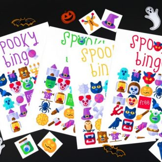 HALLOWEEN BINGO GAME – FREE PRINTABLE