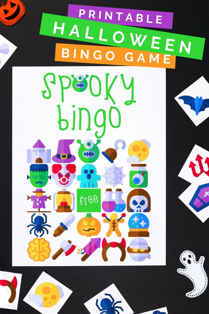 HALLOWEEN BINGO GAME – FREE PRINTABLE