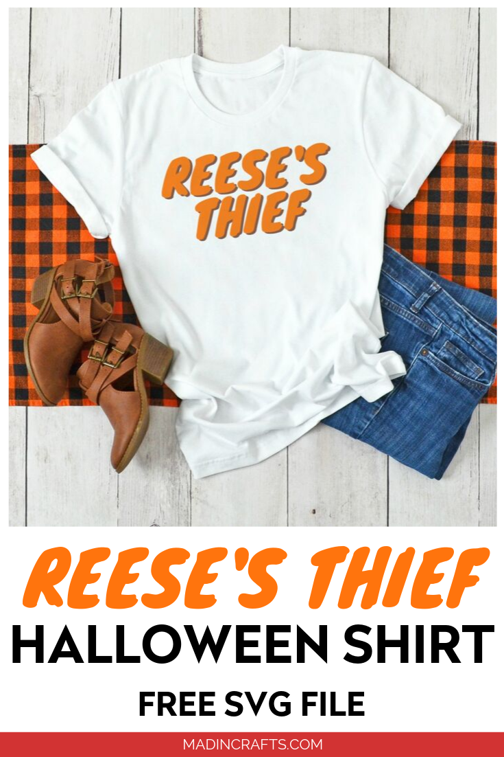 Reese\'s Thief SVG design t-shirt