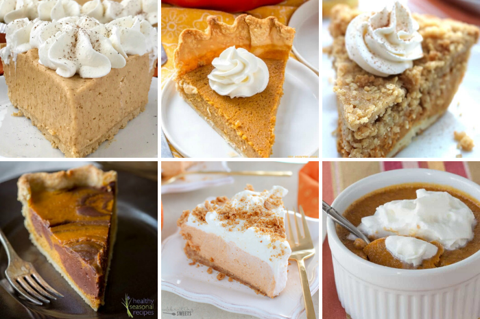 16 DIFFERENT WAYS TO MAKE PUMPKIN PIE