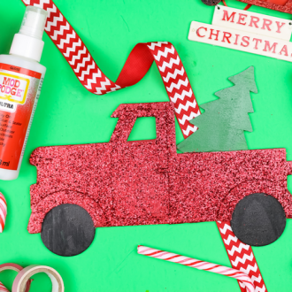 THE EASIEST WAY TO KEEP GLITTER FROM SHEDDING