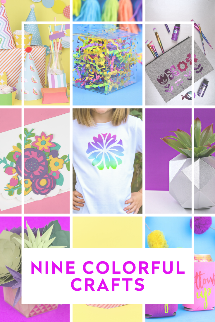 9 COLORFUL CRAFTS YOU CAN MAKE WITH A CRICUT MAKER