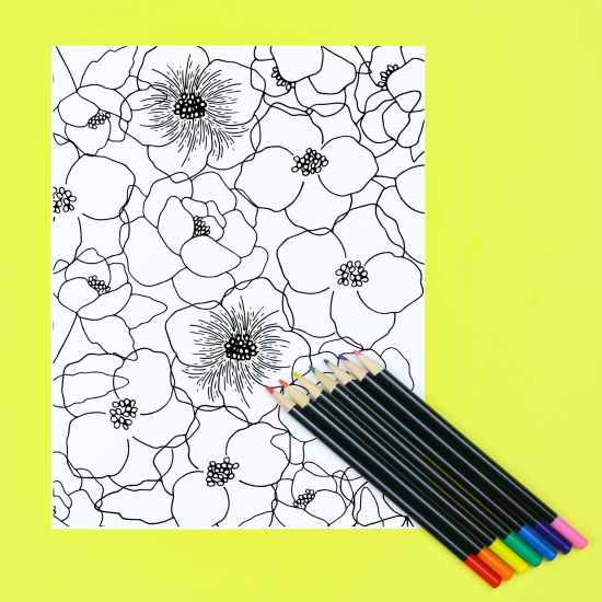 10 FREE PRINTABLE COLORING SHEETS