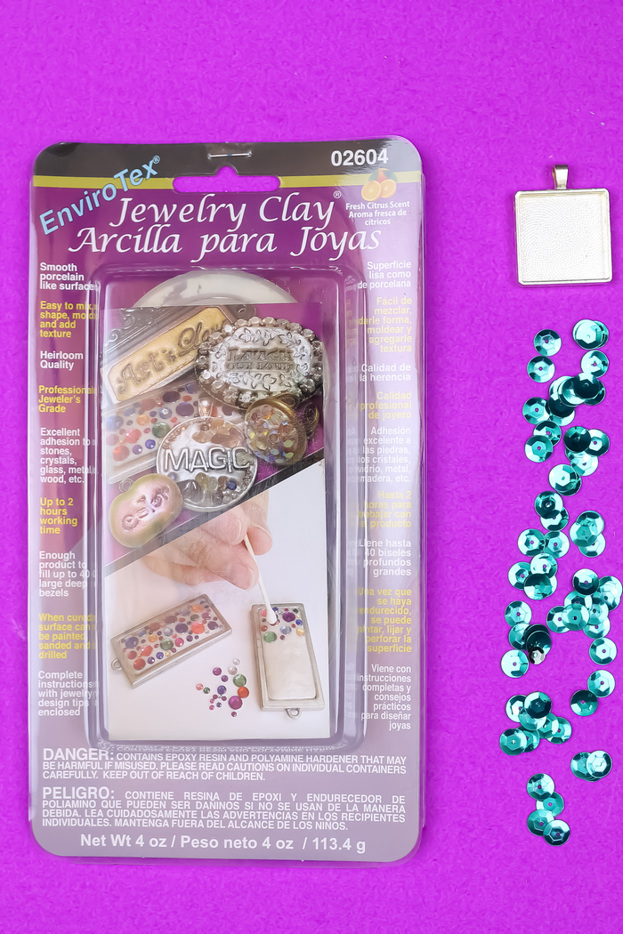 EASY MERMAID JEWELRY WITH SEQUINS