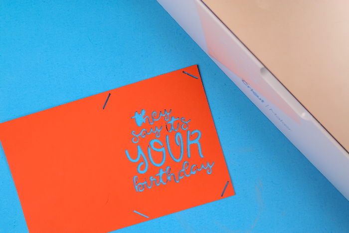 HOW TO MAKE A CRICUT INSERT CARD WITH A MAKER