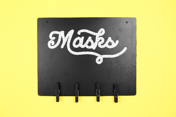 DIY CRICUT JOY MASK HANGER