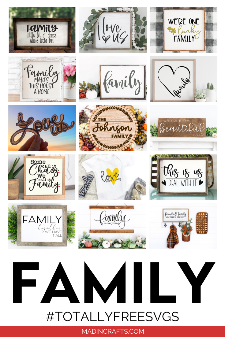 FREE FAMILY SVG FILES