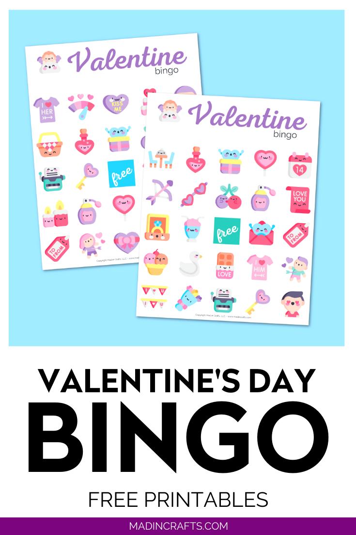 Printable Valentines Bingo Game